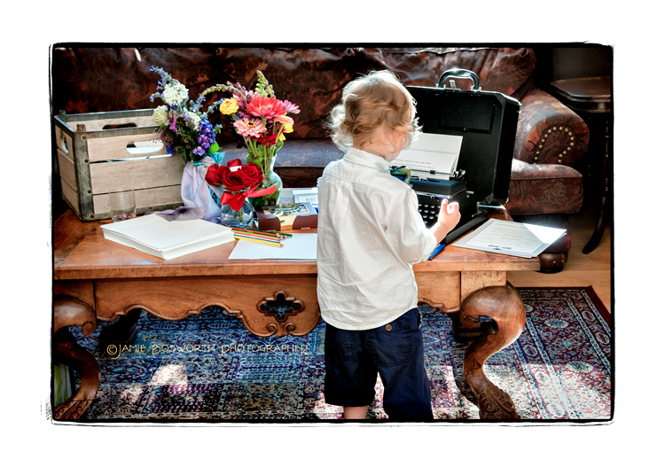 Little-boys-and-vintage-typewriters-Jamie-Bosworth-Photographer